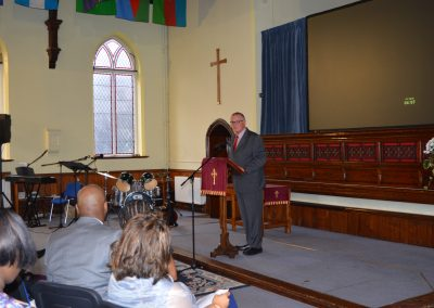 Speech by Rev Graham Woolgar